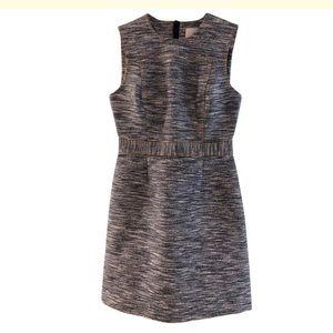 Jason Wu Denim Cotton Tweed Sleeveless Dress